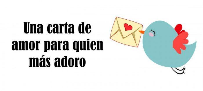 Una carta de amor