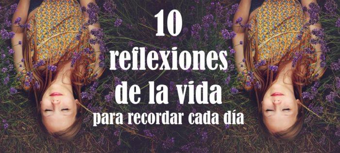 10 reflexiones de la vida