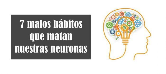 7 malos hábitos que matan nuestras neuronas - Arte con huesos